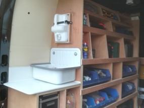 Bendeco - Inrichting bestelwagen
